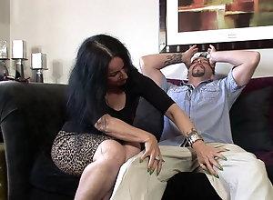 Tattooed milf with big jugs Miss Nina Swiss gets pounded