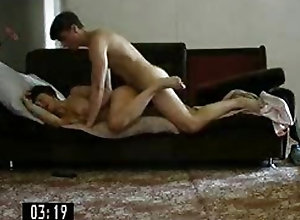 Impressive milf gets recorded secretly while being fuck very hard
