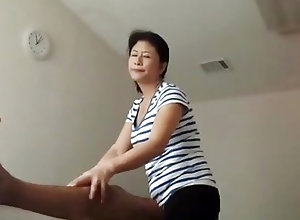 Mature massage clips