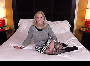 Mature mom girl cock