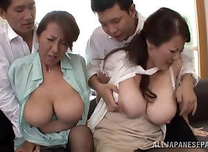 Can Asian mom group sex agree