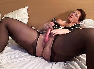 mom dildo sex