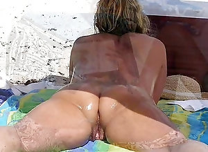 Pantyhose riding free video