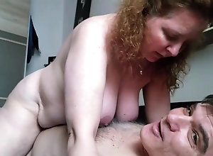 Moms redhead amateur mature