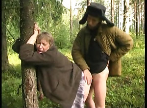 Mature Granny Eats A Dick And Gets Smashed Hard Outdoors