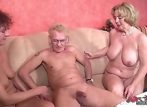 Hat opa oma sex mit Deutsche Oma