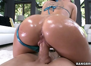 Oily Milf With Tattoos Christy Mack Bounces On Fat Cock